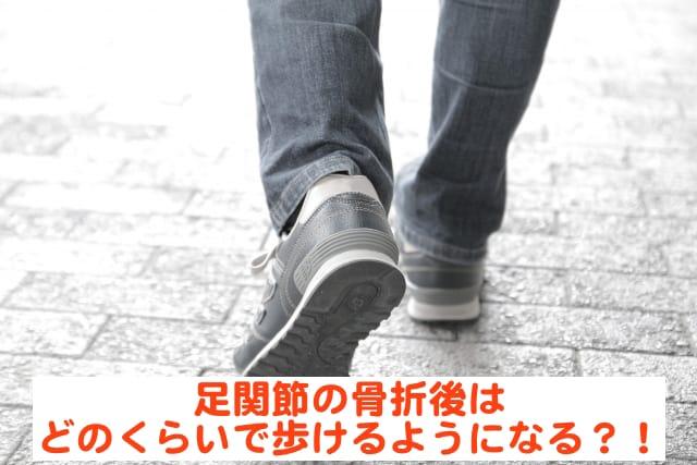 足関節 骨折 歩ける-min